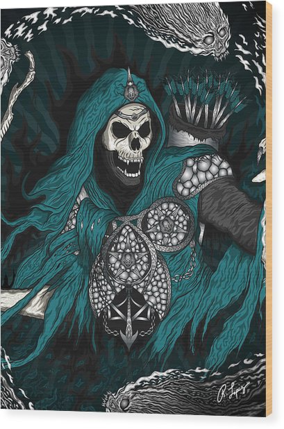 Underworld Archer Of Death Wood Print
