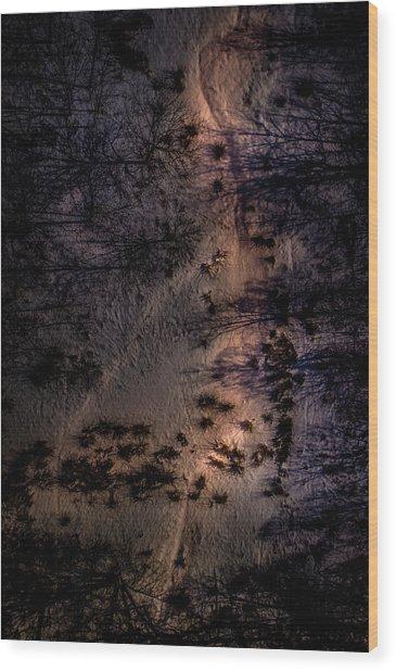 Underworld Light Wood Print