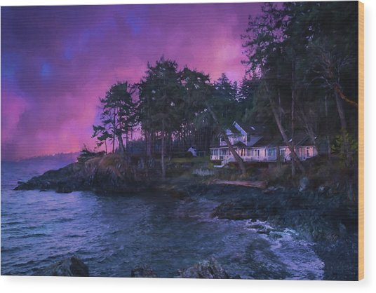 Undreamed Shores - Chesapeake Art Wood Print