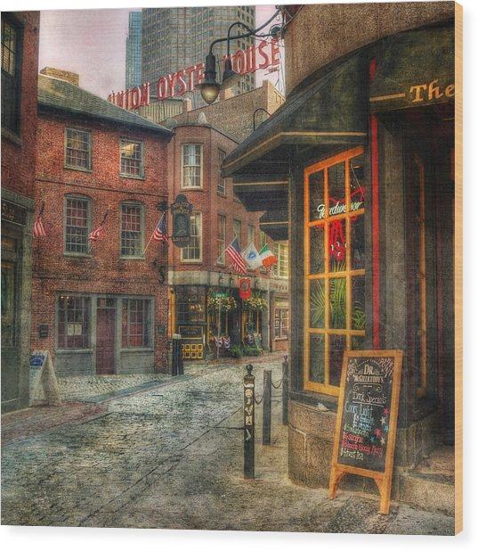 Union Oyster House - Blackstone Block - Boston Wood Print