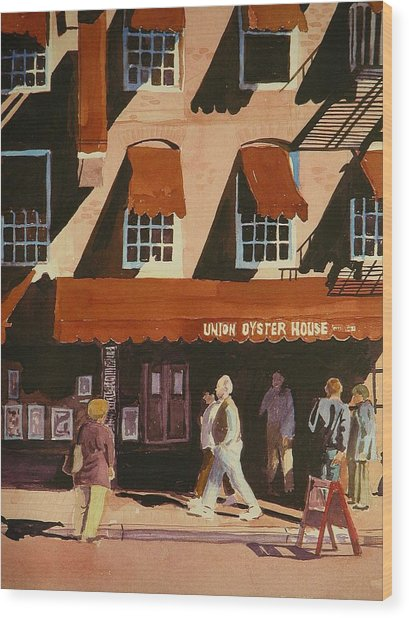 Union Oyster House Of Boston Wood Print by Walt Maes