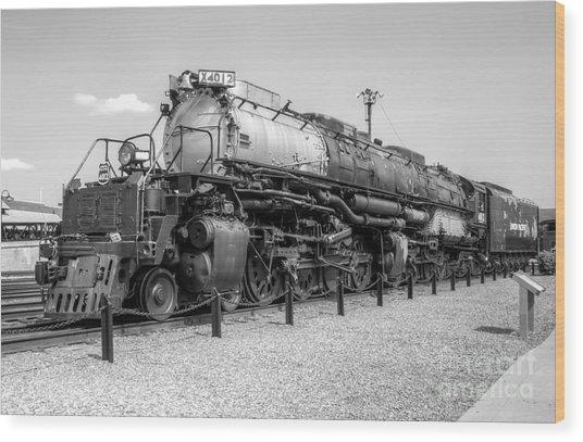 Union Pacific 4012 Wood Print