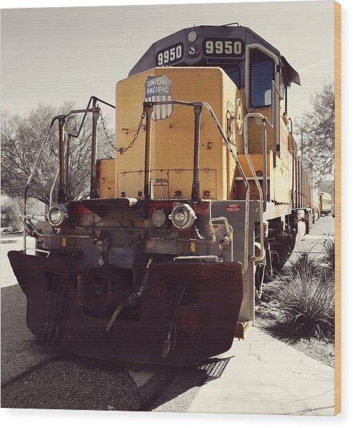 Union Pacific No. 9950 Wood Print