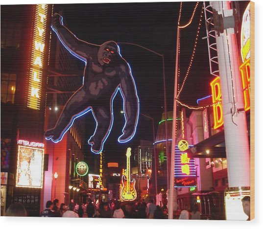 Universal King Kong Wood Print