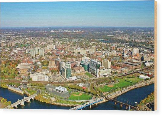 University City Philadelphia Pennsylvania Wood Print by Duncan Pearson