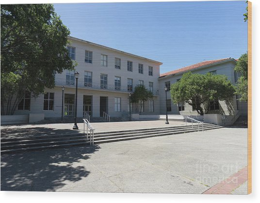 University Of California At Berkeley Dwinelle Hall Dsc6274 Wood Print