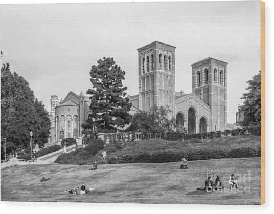 University Of California Los Angeles Landscape Wood Print