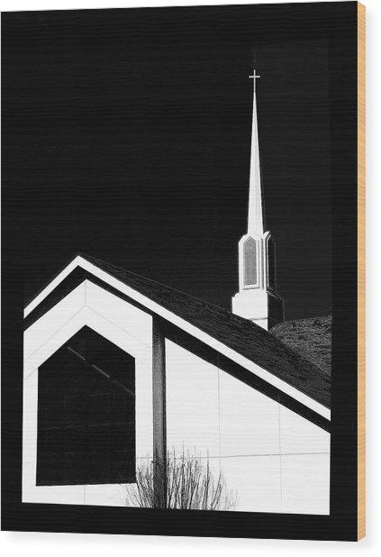 Unspoken Wood Print