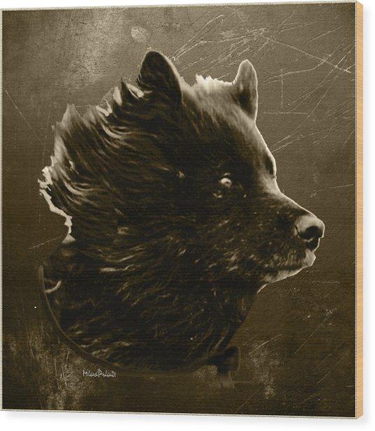 Untamed Wood Print by Asok Mukhopadhyay