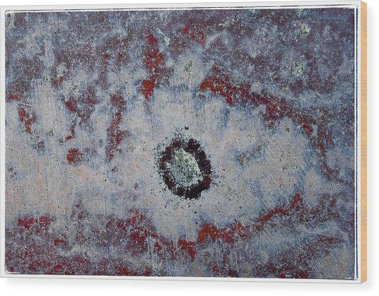 Abstract 81 Wood Print