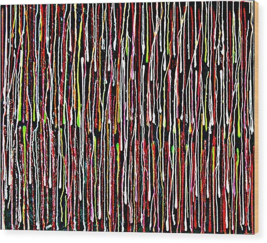 Untitled 1 Wood Print by Paul Freidin