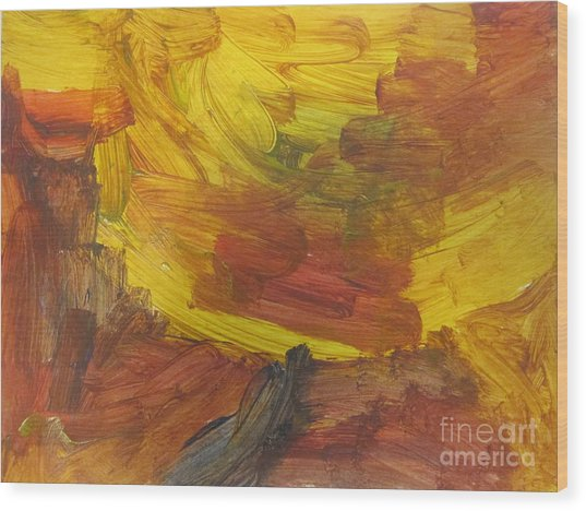 Untitled 117 Original Painting Wood Print