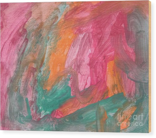 Untitled 119 Original Painting Wood Print