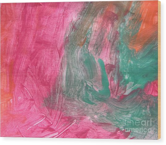 Untitled 123 Original Painting Wood Print