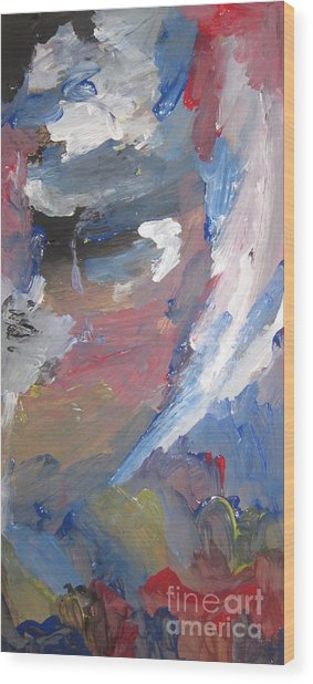 Untitled 141 Original Painting Wood Print
