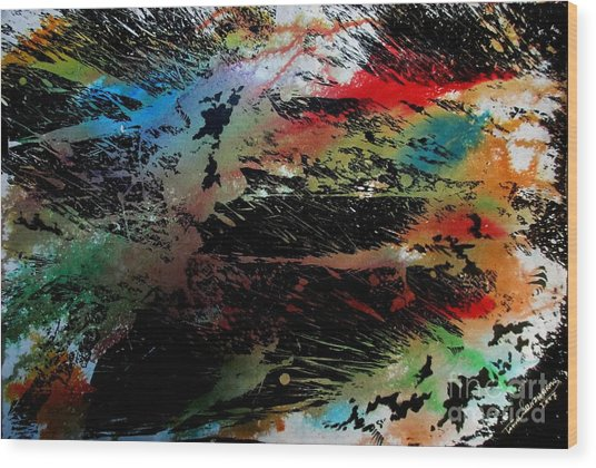 Sparkle Wood Print