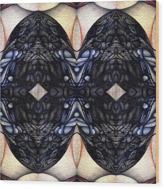untitled III Wood Print