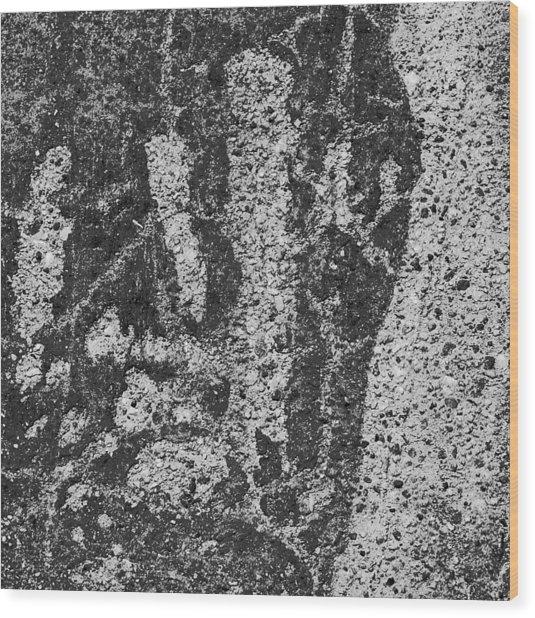 Abstract 96 Wood Print