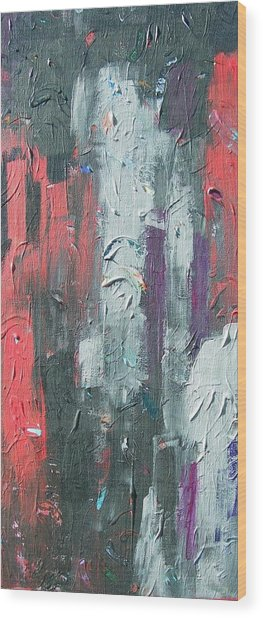 Untitled Number 12 Wood Print by Kerry Smith