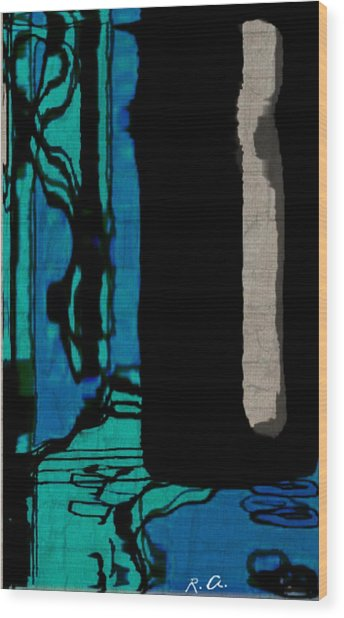 Untitled Stand Still Of Life Wood Print by Rene Avalos