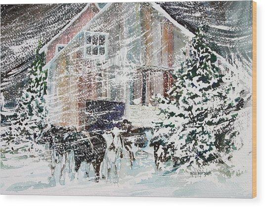 Up North Wood Print