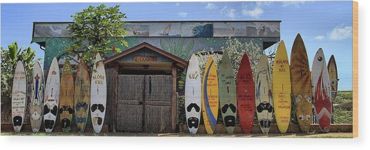 Upcountry Boards Wood Print