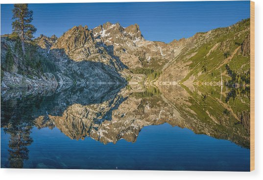 Upper Sardine Lake Panorama Wood Print