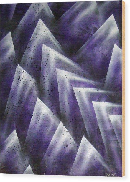 Upward Wood Print by Leigh Odom
