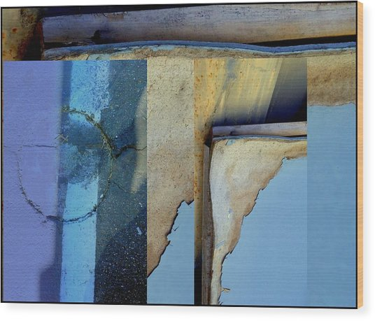 Urban Abstracts Seeing Double 62 Wood Print