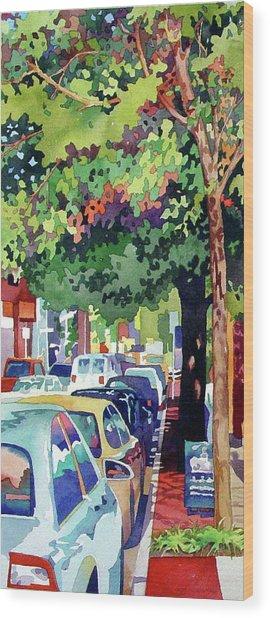 Urban Jungle Wood Print