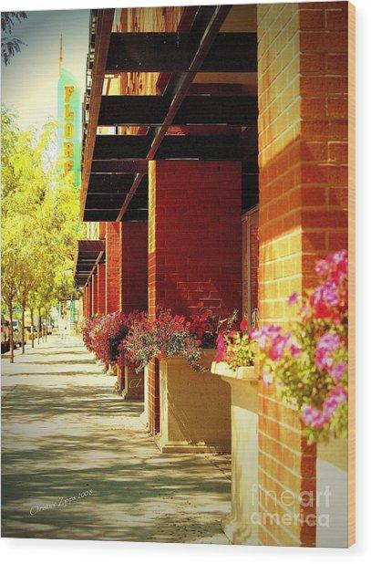 Urban Renewal Wood Print