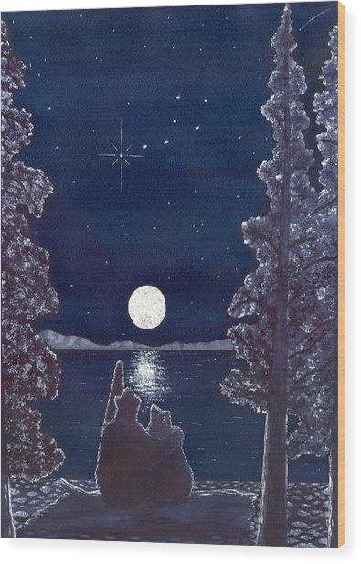 Ursa Minor Wood Print