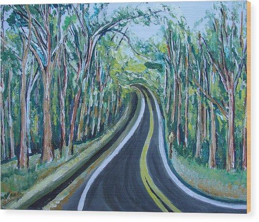 Us Landscpe-15 Wood Print by Anand Swaroop Manchiraju