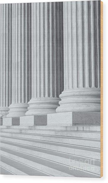 Us Supreme Court Building Iv Wood Print