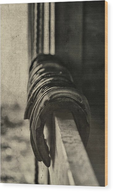 Used Steel Wood Print by JAMART Photography