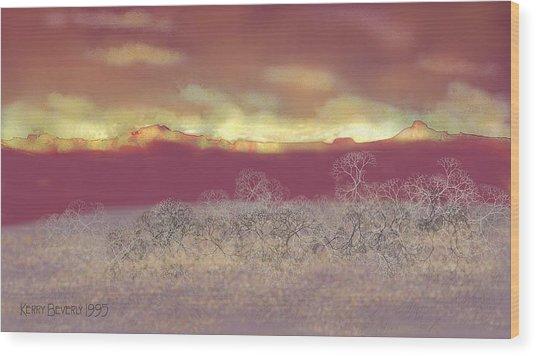 Utah Wood Print