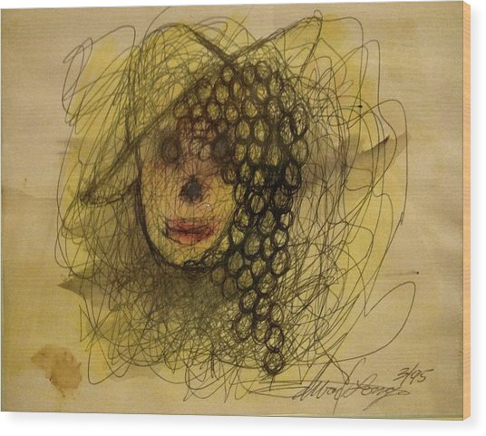 Uva Queen Of The Grapes Wood Print