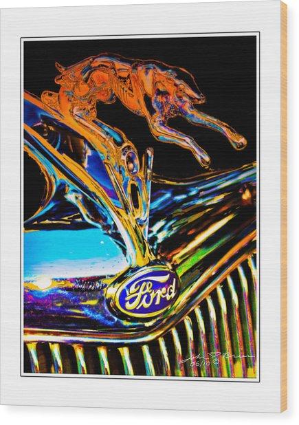 V8 Wood Print by John Breen