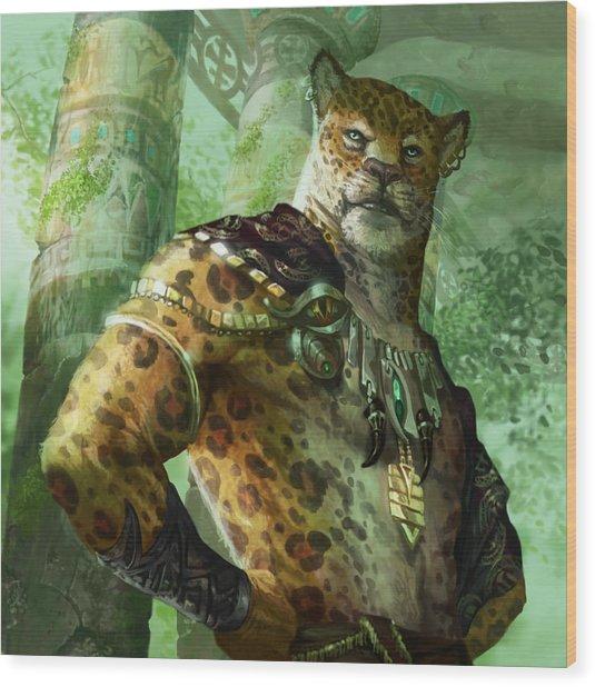 Vah Shir Royal Wood Print