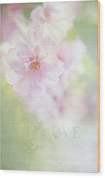 Valentine Love Wood Print