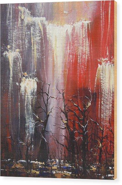 Valley Deep Wood Print