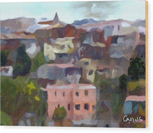 Valparaiso - Chile Wood Print by Carlos Camus