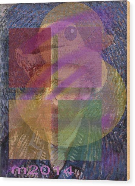 Van Gogh Self Portrait With Felt Hat Wood Print