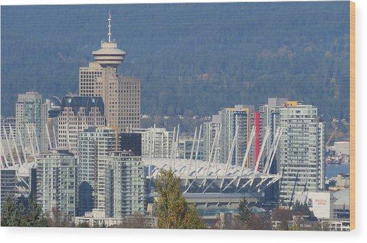 Vancouver Stadium Wood Print