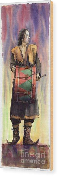 Varius Coloribus  Abul Wood Print