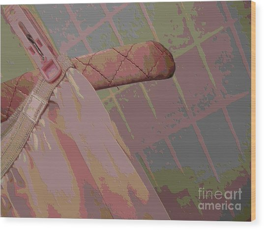 Vassarette Wood Print