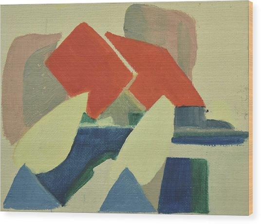 Vastkusten, West Coast,hamburgsund 1985_1249 Up To 120 X 90 Cm Wood Print