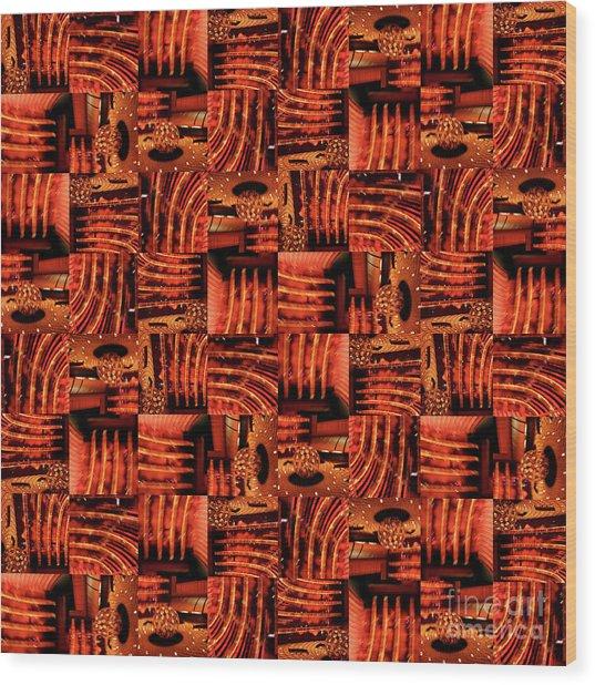 Velvety Wood Print