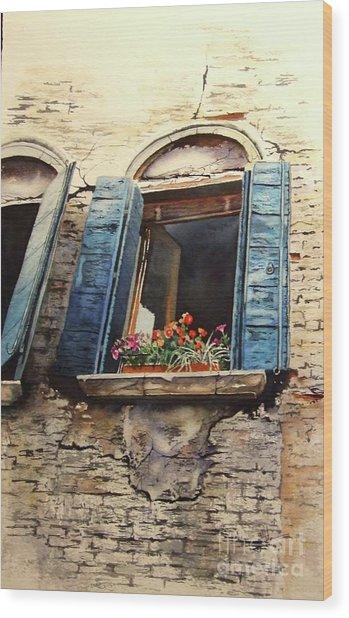 Venecia Wood Print