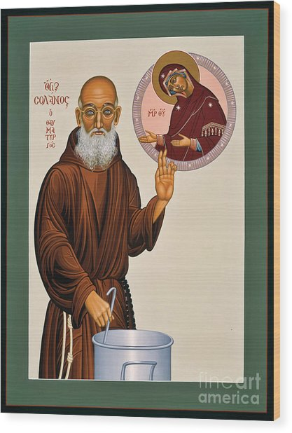 Venerable Fr. Solanus Casey The Healer 038 Wood Print